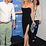 Kate Hudson Black Dress at Toronto Film Festival