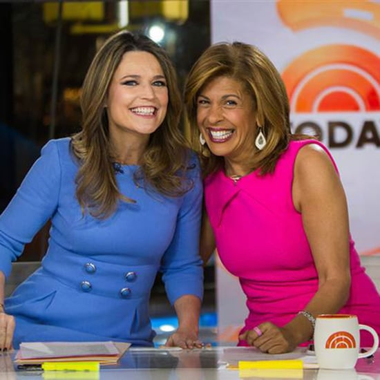 Hoda Kotb and Savannah Guthrie Cohosting The Today Show