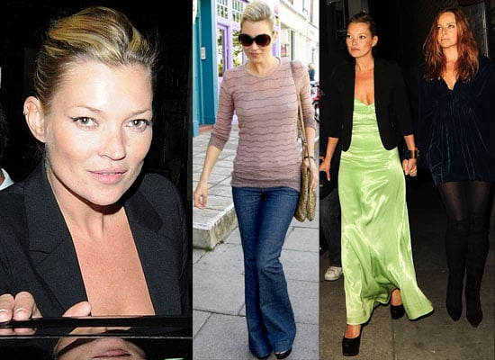 Photos Of Kate Moss In Flares Out In London