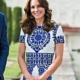 Who Designed Kate Middleton's Taj Mahal Dress?