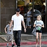 Ryan Spends His Weekend With Ava and Deacon While Reese Is Abroad