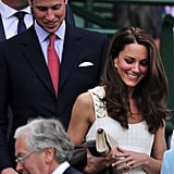 Kate Debuted the Tweaked Design at Wimbledon With Prince William in 2011