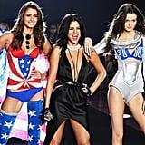 Pictured: Selena Gomez, Taylor Hill, and Megan Puleri