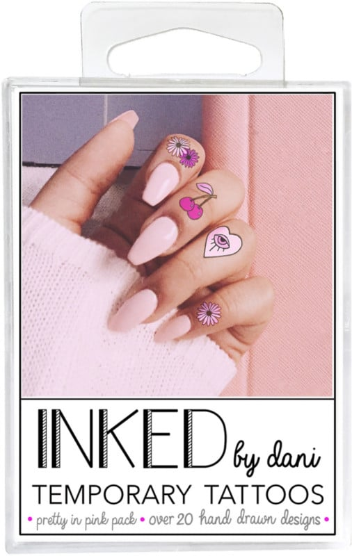 Inked by Dani Temporary Tattoos Pretty in Pink Pack