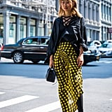 Asymmetrical Print Skirt + Top