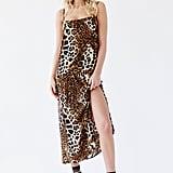 Silken Printed Maxi Dress