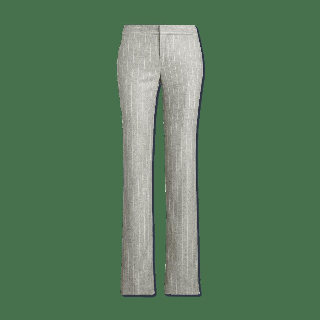 Straight Leg Creased Pant