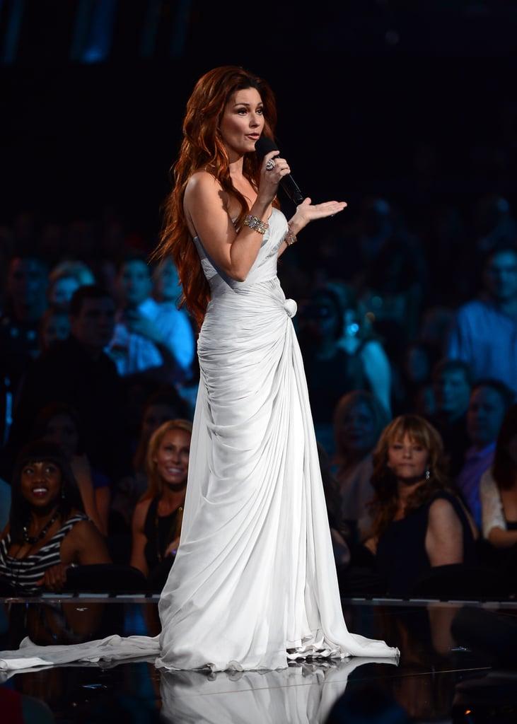 Shania Twain made an appearance at the Billboard Music Awards.