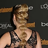 We couldn't get over how gorgeous Jennifer Morrison's ponytail was at Entertainment Weekly's pre-Emmys party.