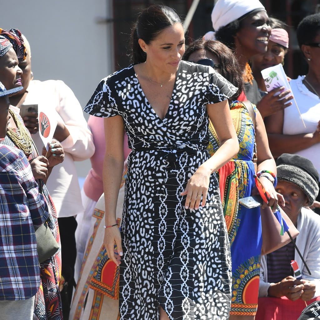 Meghan Markle's Wrap Dress South Africa September 2019