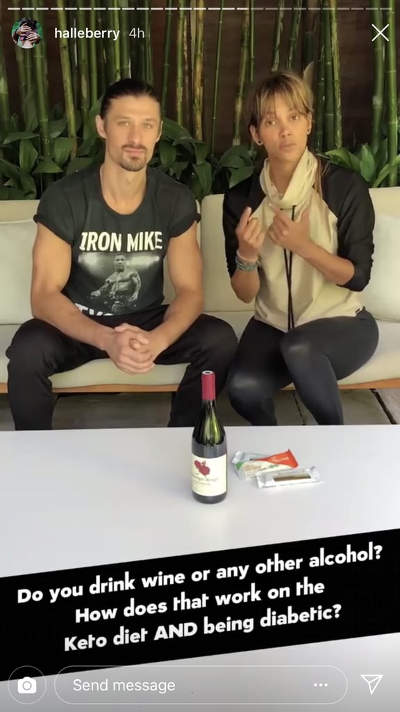 Halle Admits She Loves Wine