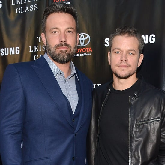 Ben Affleck and Matt Damon Best Friends Day Pictures 2016
