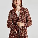 Zara Frayed Jacket