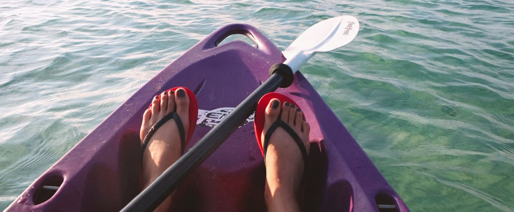 Prepare to Argue For Days Deciding What Color These Flip-Flops Are