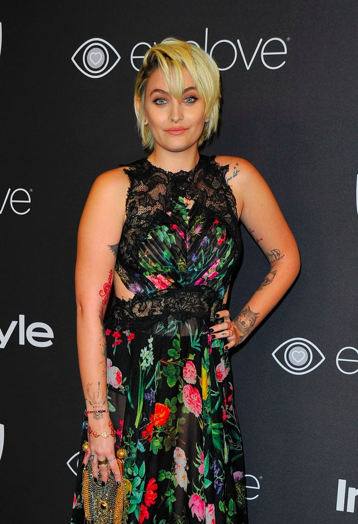 Paris Jackson at Golden Globes Afterparty 2017