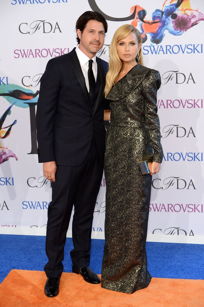 Rachel Zoe walked the red carpet with her husband, Rodger Berman.