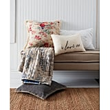 Lionel Oblong Throw Pillow in White