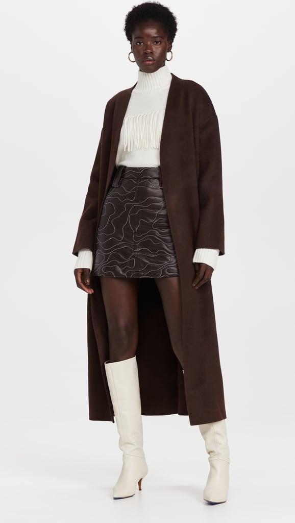 A Long Coat: Anine Bing Hunter Coat