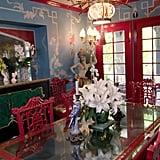 Dita Von Teese's Dining Room