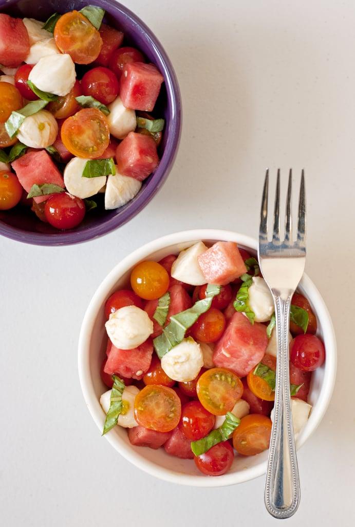 Watermelon Caprese Salad