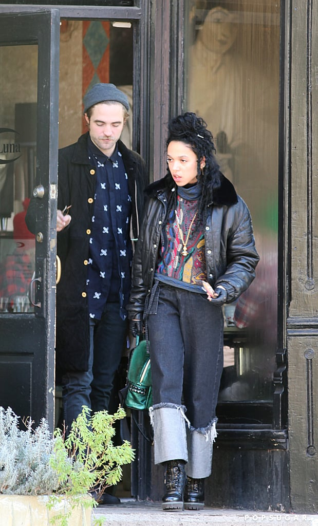 Robert Pattinson and FKA Twigs in Toronto | Photos