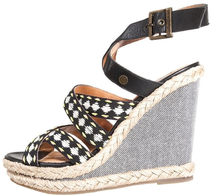 28373f4ea9d Pepe Jeans Walker Tapes Wedge Sandals | Best Wedge Sandals For ...