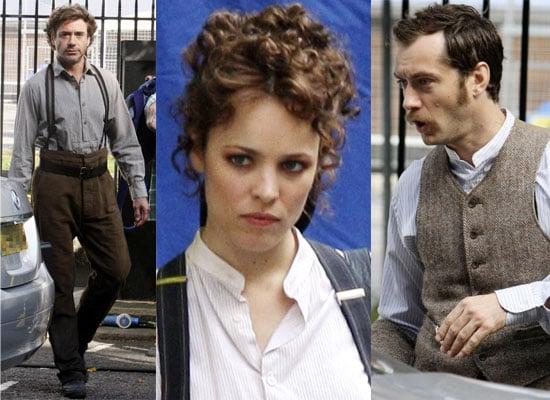 Sherlock Holmes Reshoots In London