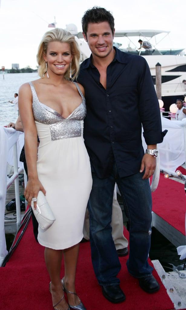 Jessica Simpson and Nick Lachey, 2004