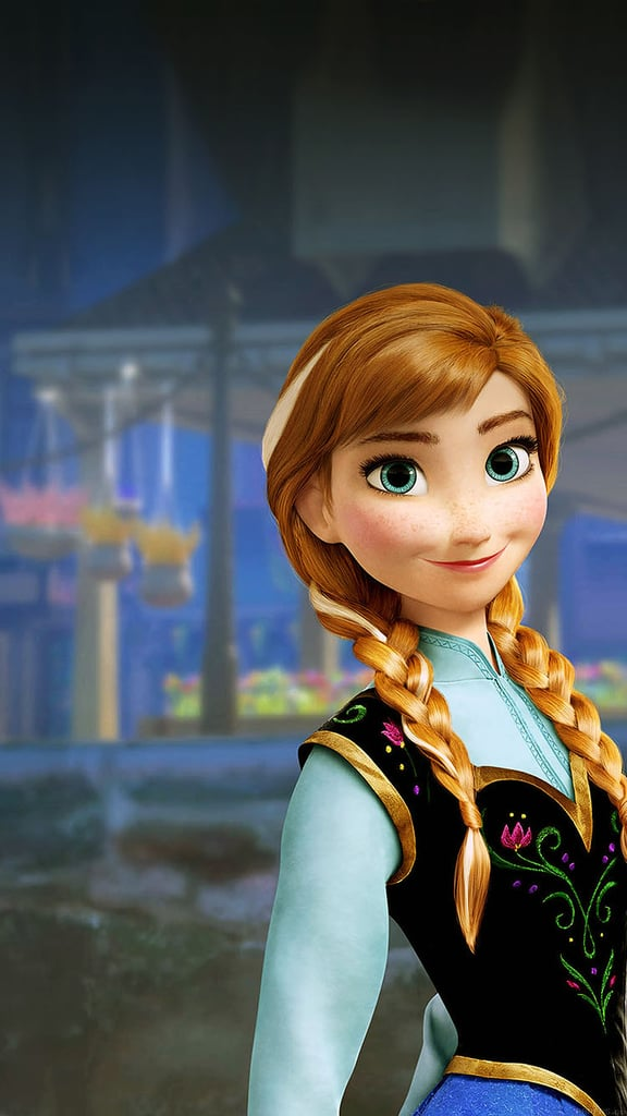 Anna From Frozen Wallpaper