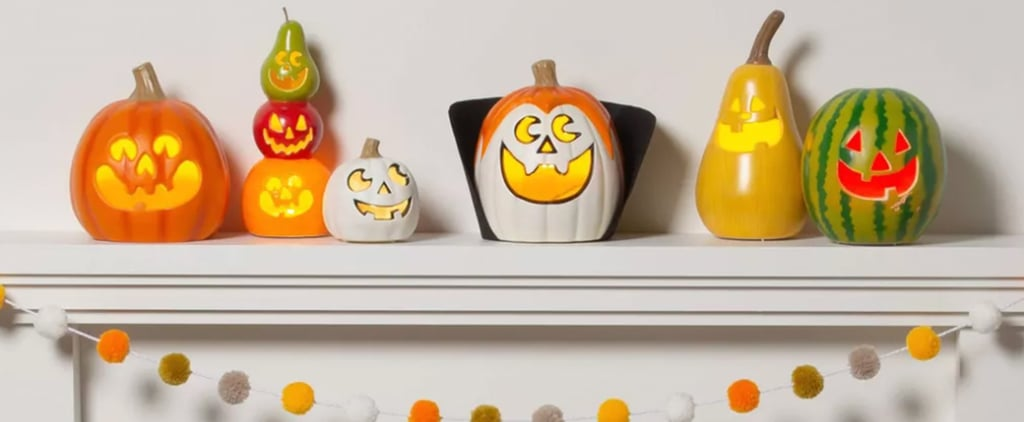 Target's Halloween Pineapple Jack-o'-Lantern Skull