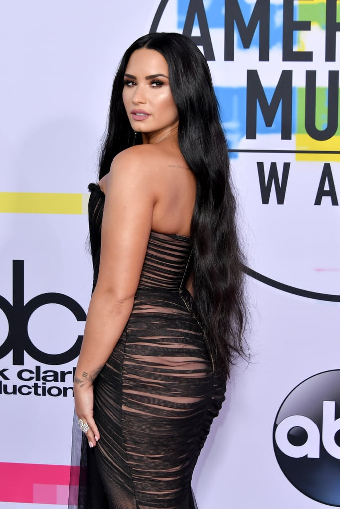 Demi Lovato at the American Music Awards