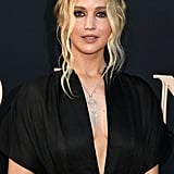 Jennifer Lawrence With Ombré Blond Hair