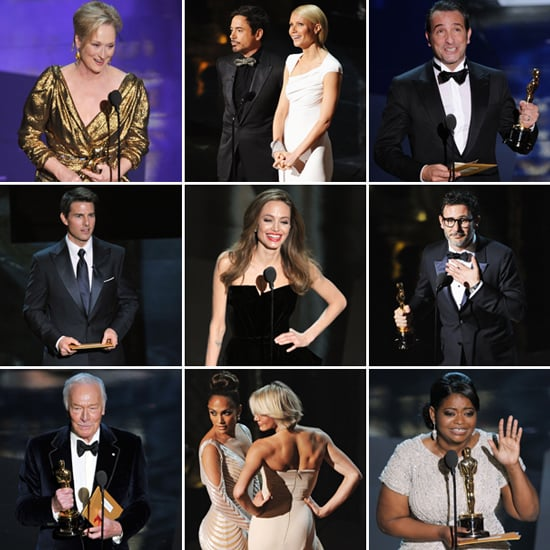 2012 Oscars Show Pictures, Winners and Highlights