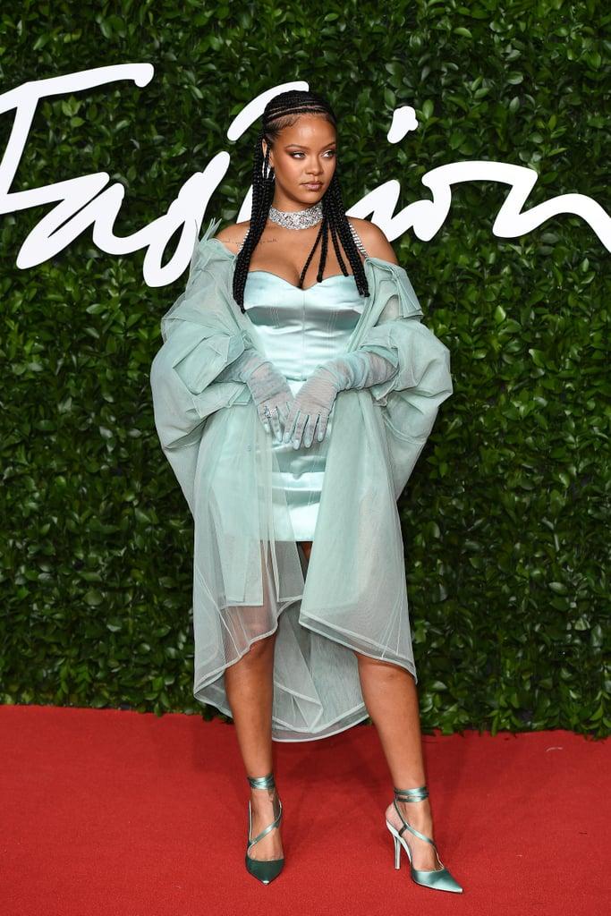Rihanna Wearing Fenty at the British Fashion Awards 2019