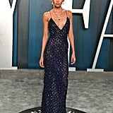 Stella Maxwell at the Vanity Fair Oscars Afterparty 2020