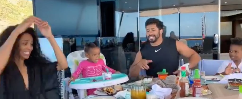 Ciara and Russell Wilson Breakfast Dance Video on Instagram