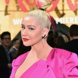 Christina Aguilera Debuted a Striking Red Hair Color in the