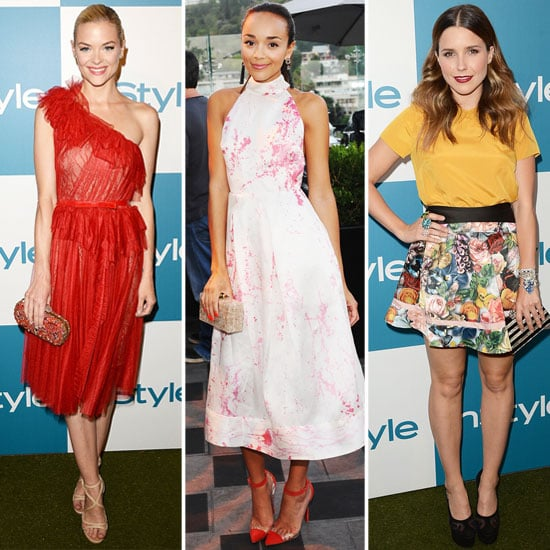 Pictures of Celebrities at the 2012 InStyle Summer Soiree: Jaime King, Khloe Kardashian, Ashley Madekwe + More