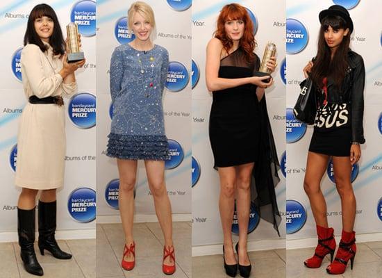 Best Dressed at Mercury Music Prize 2009