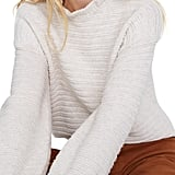 Madewell Ruffle Neck Sweater