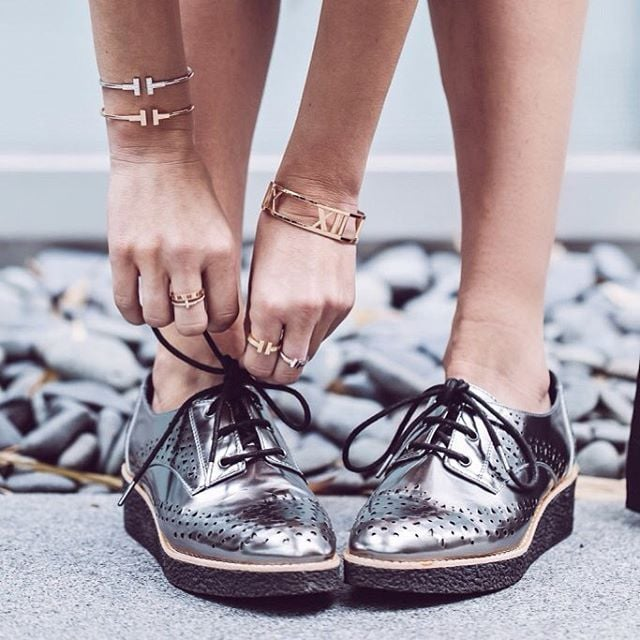 Trade in Ballet Flats For Brogues or Oxfords