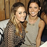 Lauren Conrad and Audrina Patridge hung out in Toronto in August 2007.