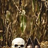 Halloween DIY Backyard Wedding Ideas