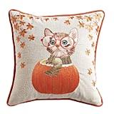 Cat in Pumpkin Pillow