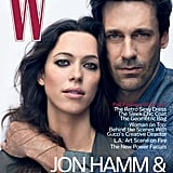 Pictures of Jon Hamm and Rebecca Hall