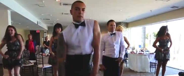 Man Toasts Best Friend's Wedding With a Britney Spears Moment You Must See