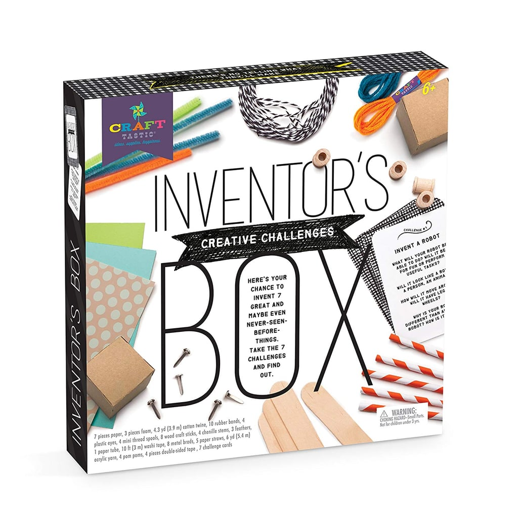 For 7-Year-Olds: Craft-tastic Inventor's Box Arts and Crafts Kit