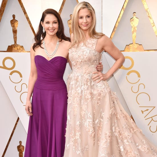 Mira Sorvino and Ashley Judd at the 2018 Oscars