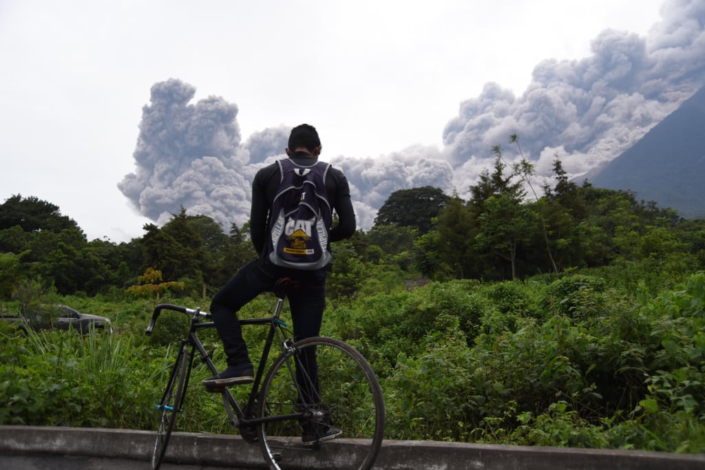 Guatemala Fuego Volcano Eruption Photos 2018