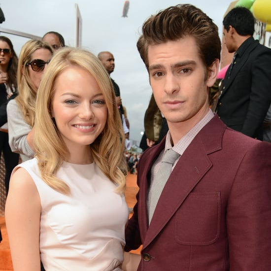 Emma Stone and Andrew Garfield Cute Pictures at 2012 Kids' Choice Awards